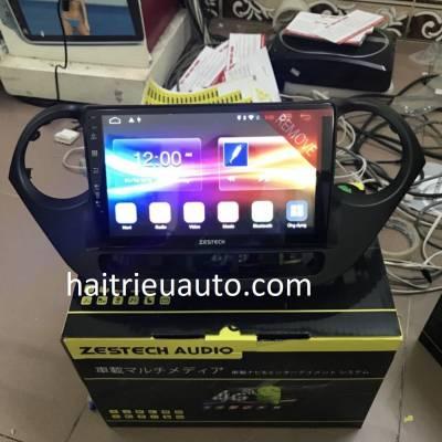 màn hình android zestech theo xe huyndai I10