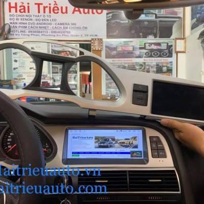 màn hình android theo xe audi A6 2011