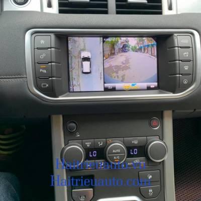 camera 360 theo xe Range Rover evoque