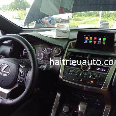 android cho xe lexus NX200