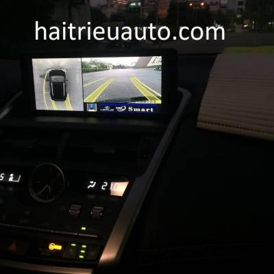 lắp camera 360 cho xe lexus NX 200T