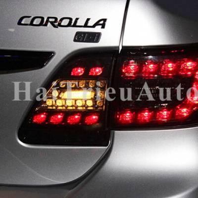 Đèn hậu độ cho xe altis 2012