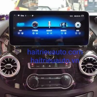 màn hình android theo xe mercedes tivo