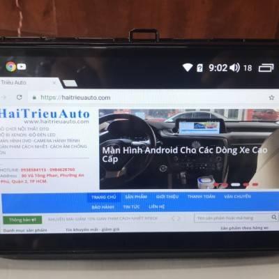 màn hình android xe Volkswagen Tiguan