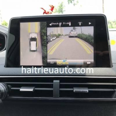 lắp camera 360 cho xe Peugeot 3008
