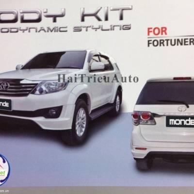 Body kit xe fortuner 2011