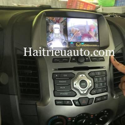 camera 360 cho xe Ford Ranger