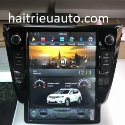 màn hình tesla theo xe Nissan X-Trail