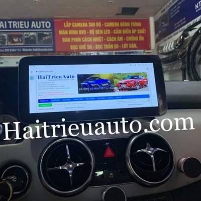 màn hình android xe mercedes GLK 2013