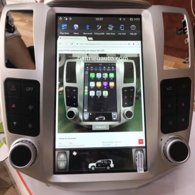 màn hình android tesla xe lexus RX 350