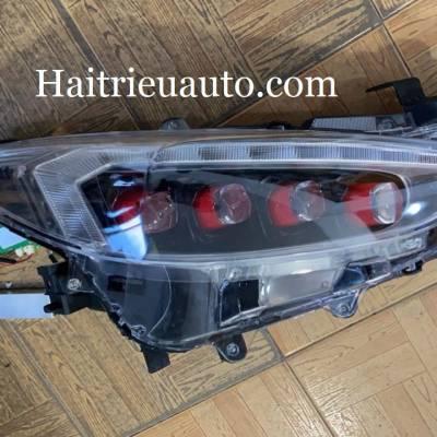 bộ đèn pha độ xe mazda 3