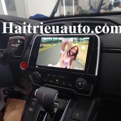 màn hình android theo xe honda crv 2018