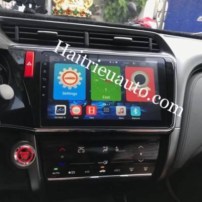 màn hình android winca theo xe honda city 2018