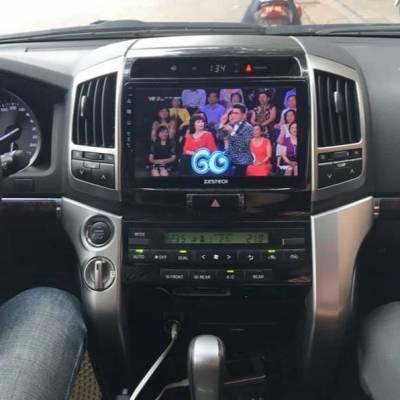 màn hình android zestech theo xe prado 2010