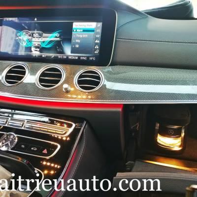Hệ thống nước hoa Air freshener và Ionisation theo xe Mercedes E300