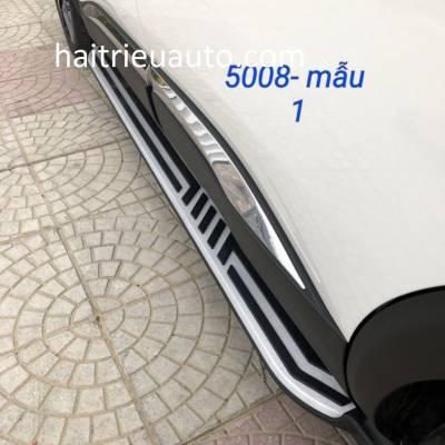 bậc bước chân theo xe Peugeot 5008