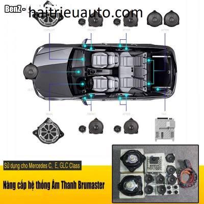 nâng cấp âm thanh cho xe mercedes