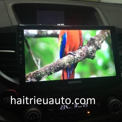 màn hình android zestech theo xe honda CRV