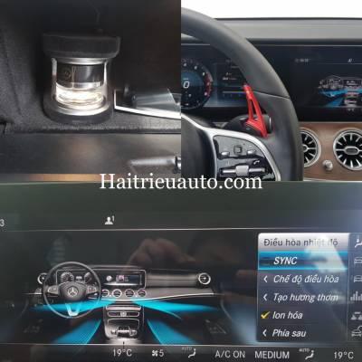 Hệ thống nước hoa Air freshener và Ionisation theo xe Mercedes E200