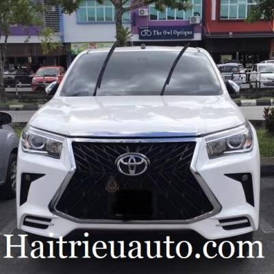 Độ cản trước xe Toyota Hilux