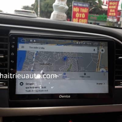 màn hình android Ownice theo xe Elantra
