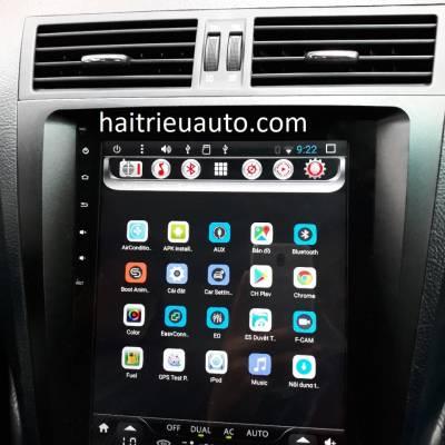 màn hình android theo xe lexus GS 350