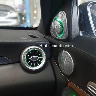 Loa treble xoay 3D Burmester theo xe Mercedes C300 2020