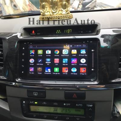 DVD ANDROIDS160 cho xe FORTUNER