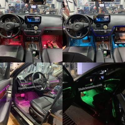 Đèn led nội thất cho xe Mercedes C 2007-2010