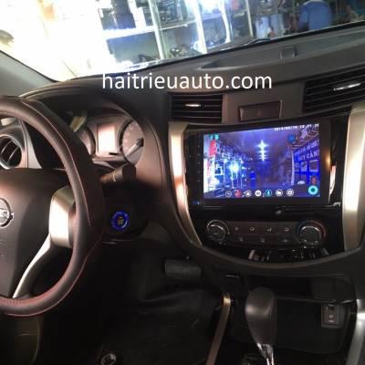 màn hình android theo xe navara 2017