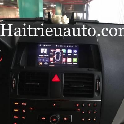 màn hình DVD android cho xe merrcedes c200