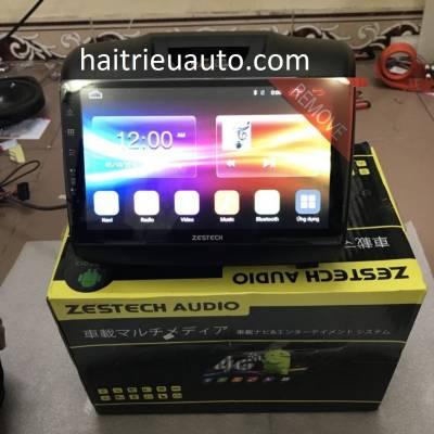 màn hình android theo xe isuzu DMAX