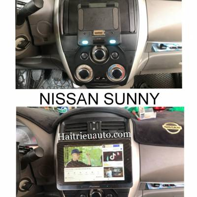 Màn hình android Pioneer cho xe Nissan Sunny