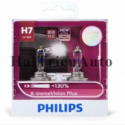 Bóng philips H7 tăng độ sáng