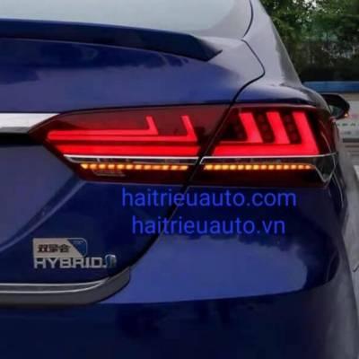 bộ đèn hậu độ theo xe toyota Camry 2021