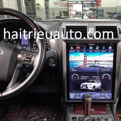 màn hình tesla theo xe lexus GX 460