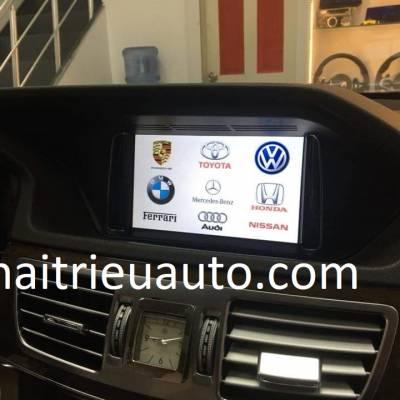 màn hinh androidtheo xe mercedes E300
