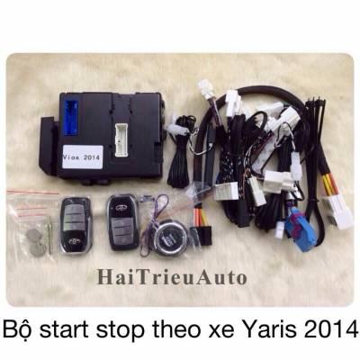 Bộ start stop theo xe Yaris 2014