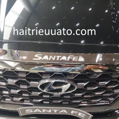 ốp mặt ca lăng xe Hyundai Santafe 2019