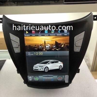 màn hình android theo xe Elantra