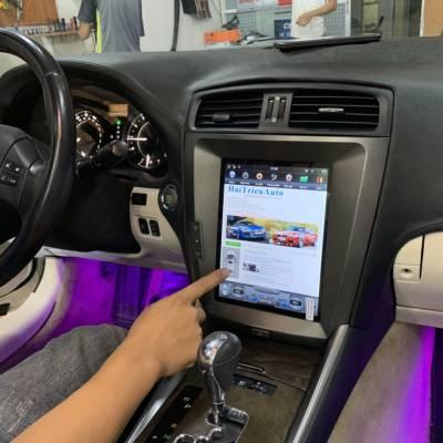 Màn hình tesla android theo xe Lexus is250 2007