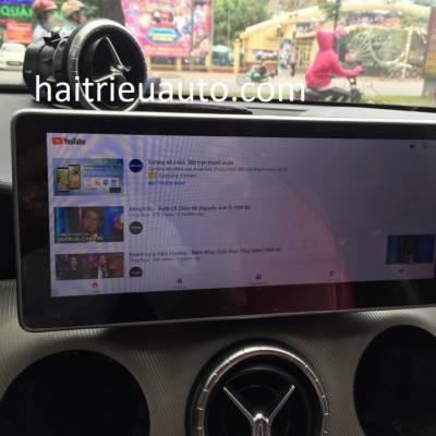 màn hình android theo xe mercedes CLA