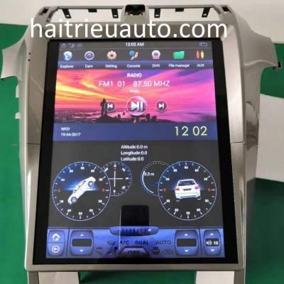 màn hình android theo xe lexus GX 460