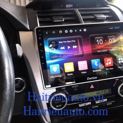 màn hình android Ownice theo xe camry