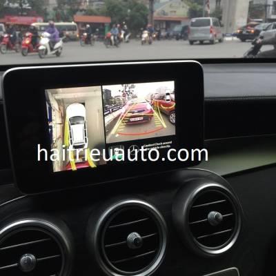 lắp camera 360 cho xe mercedes GLC