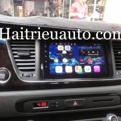 màn hình android theo xe sedona