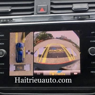 Camera 360 cho xe Volkswagen Tiguan