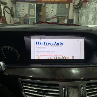 màn hình android xe mercedes S550