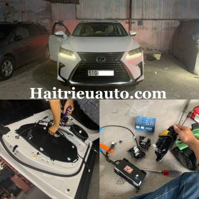Cửa hít theo xe Lexus RX300