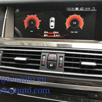 Màn hình android theo xe BMW 750li
